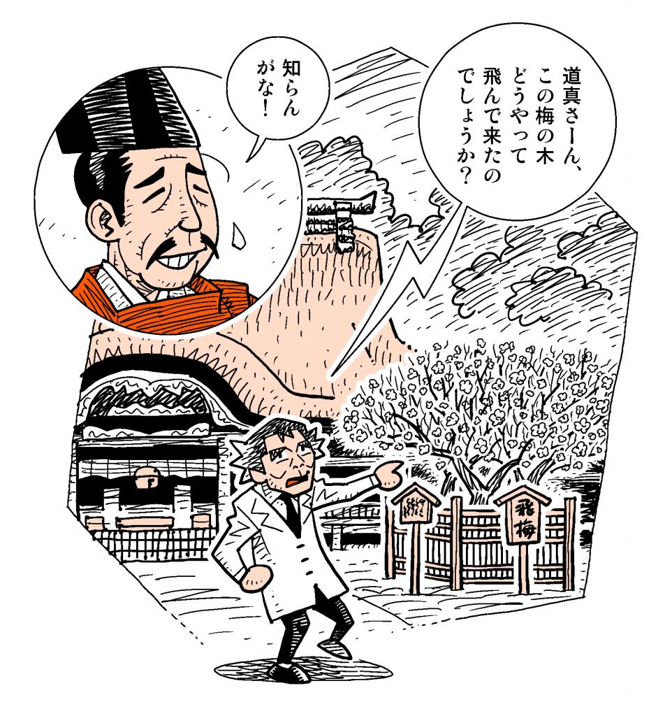 web用『飛梅伝説』タイトル画
