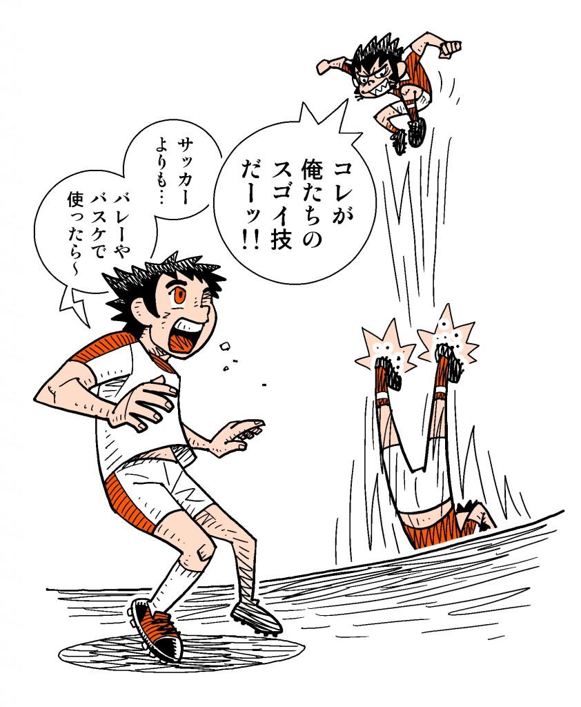 web用キャプ翼スカイラブタイトル画