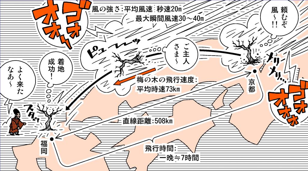 web用『飛梅伝説』図A